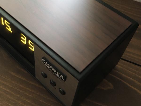 LEDアラームクロック ヴィンテージデザイン レトロクロック おしゃれ かっこいい 目覚まし時計 アラーム 置時計_画像5