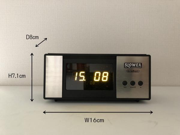 LEDアラームクロック ヴィンテージデザイン レトロクロック おしゃれ かっこいい 目覚まし時計 アラーム 置時計_画像8