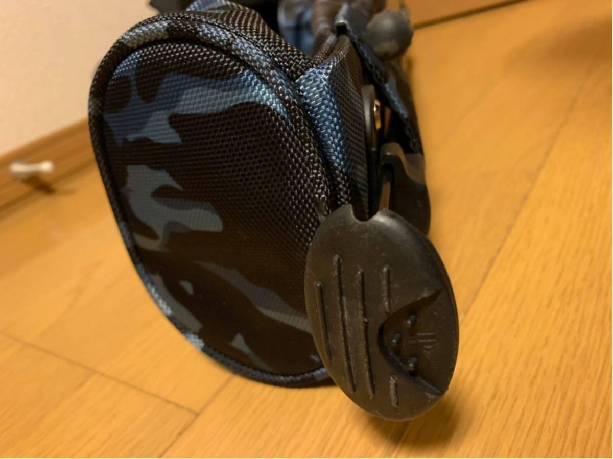 ロサーセン ROSASEN スタンドクラブケース ネイビーカモ 美品_画像5