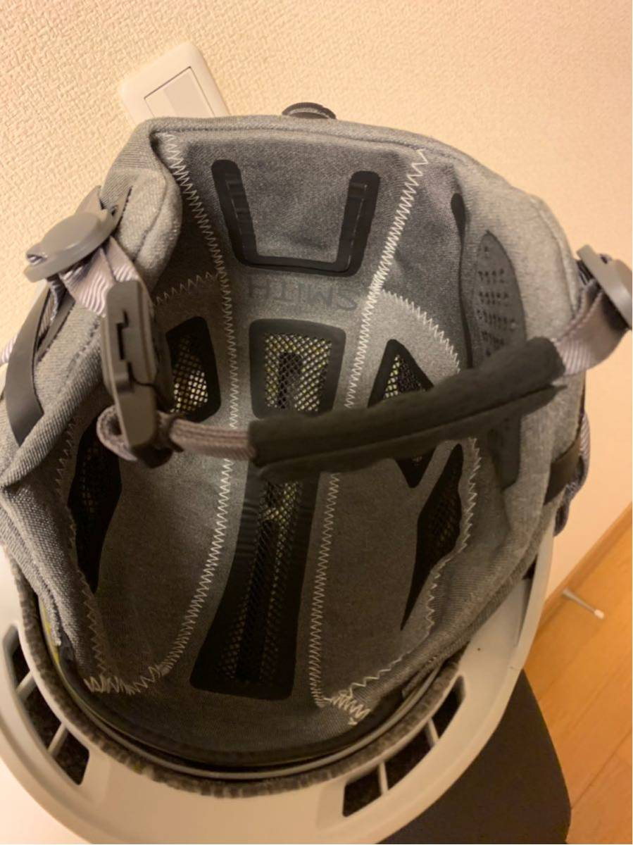 Smith ヘルメット CODE MIPS Mサイズ(59-63)アジアンフィット美品 _画像6