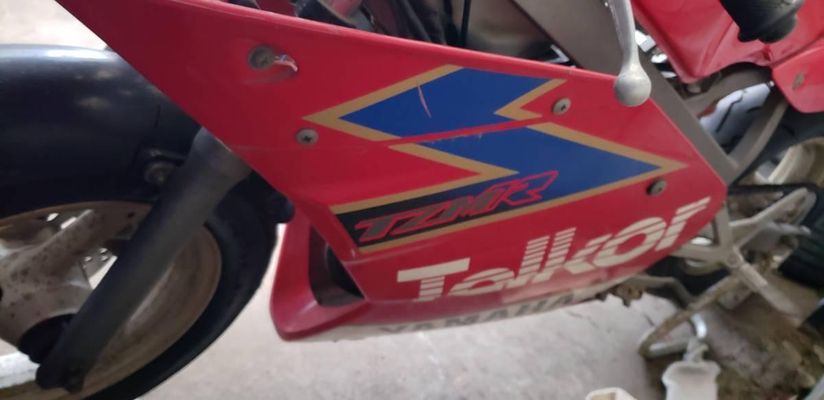 TZM50R サーキット仕様 車体 レストアベース_画像4