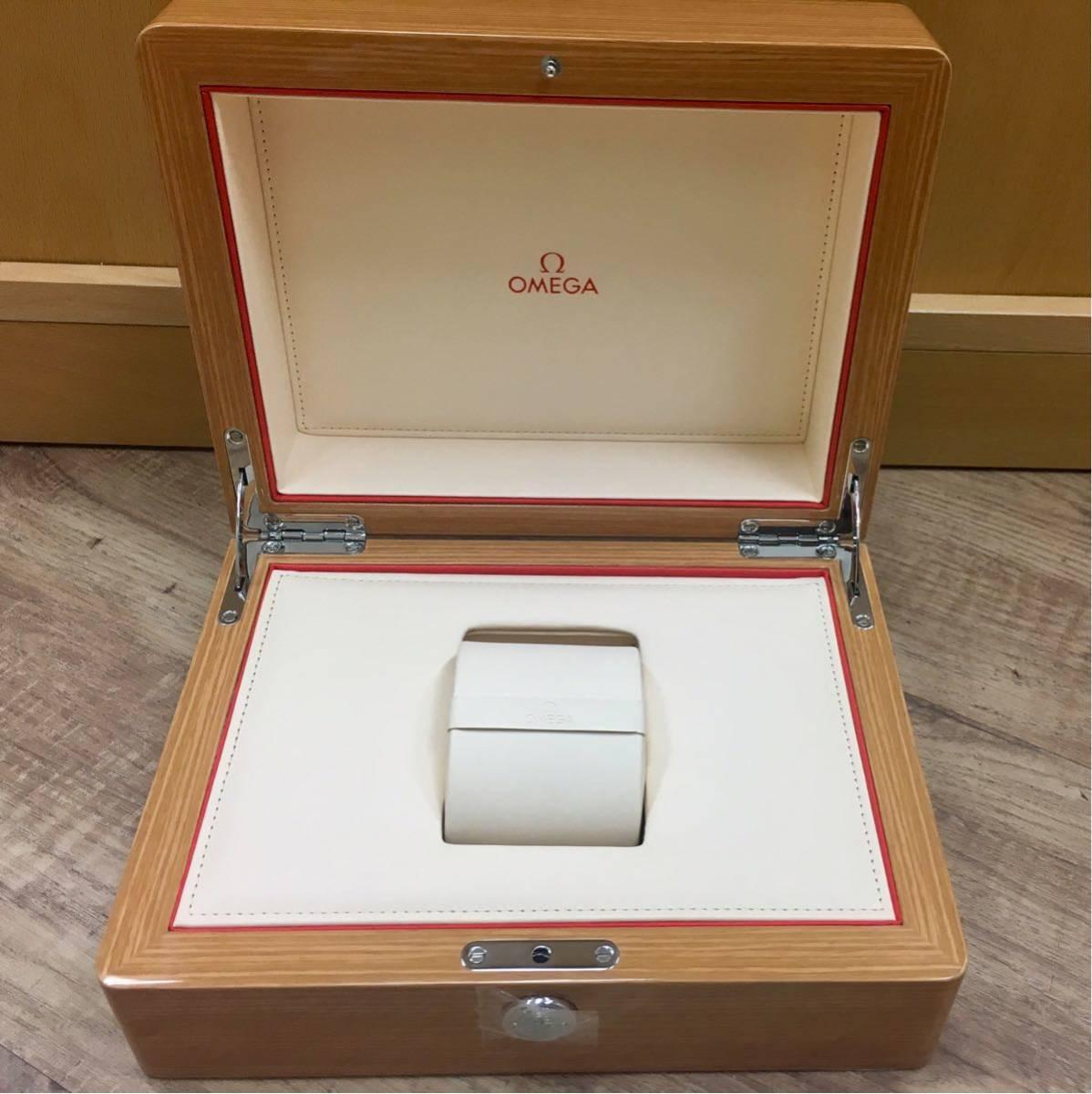 OMEGA オメガ 腕時計 空箱 木製 化粧箱_画像3