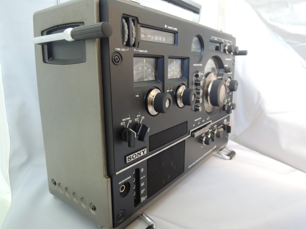 ※現状渡し※ SONY ソニー CRF-320 ラジオ FM/AM受信可 電源ケーブルなし 前面カバー付き_画像2