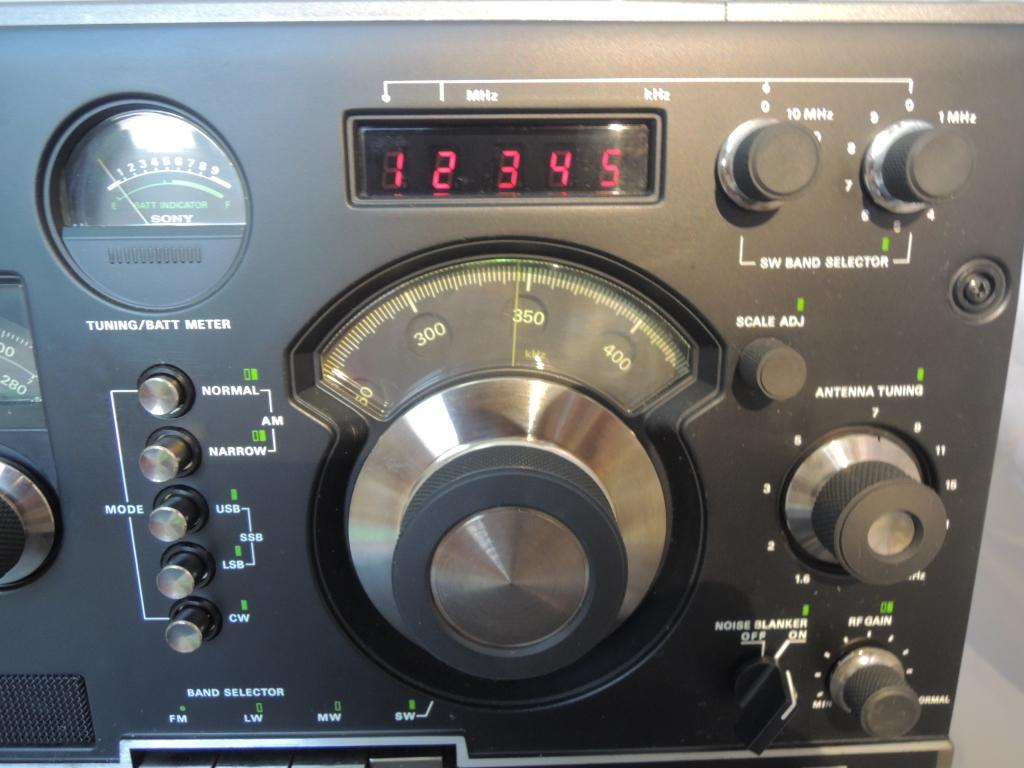 ※現状渡し※ SONY ソニー CRF-320 ラジオ FM/AM受信可 電源ケーブルなし 前面カバー付き_画像6
