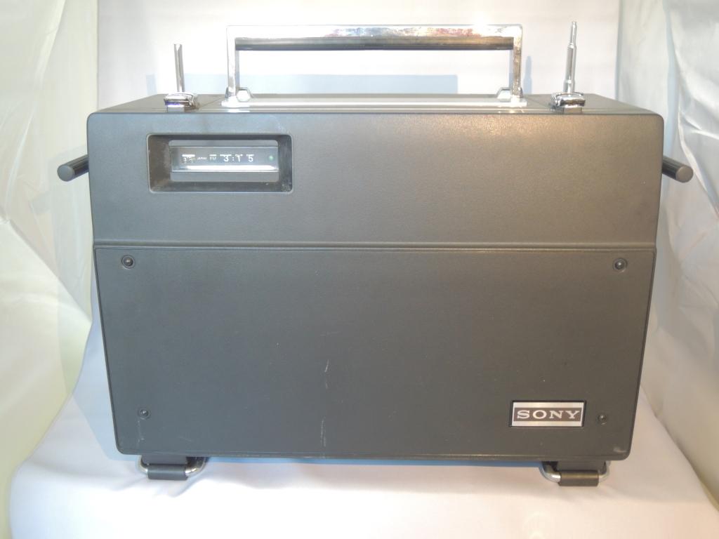 ※現状渡し※ SONY ソニー CRF-320 ラジオ FM/AM受信可 電源ケーブルなし 前面カバー付き_画像10