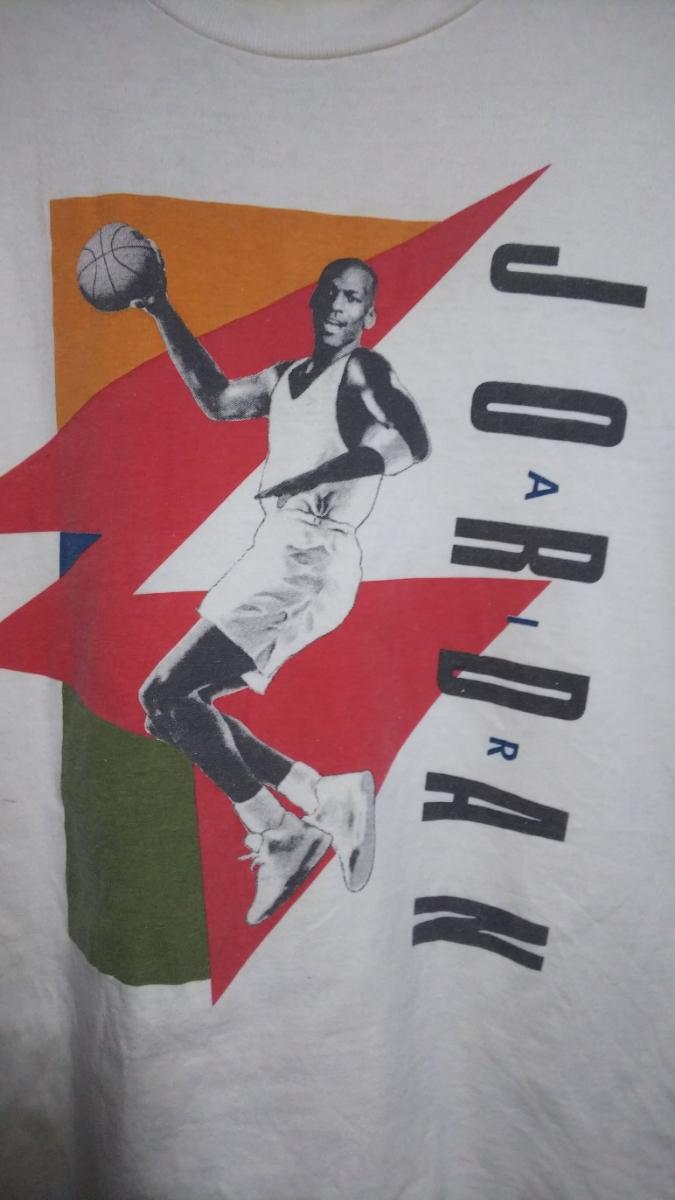nike air jordan Tシャツ 90s vintage ナイキ エア ジョーダン 銀タグ ナイキ製 made in USA 激レア 1992年製 1 2 3 4 5 6 7 8