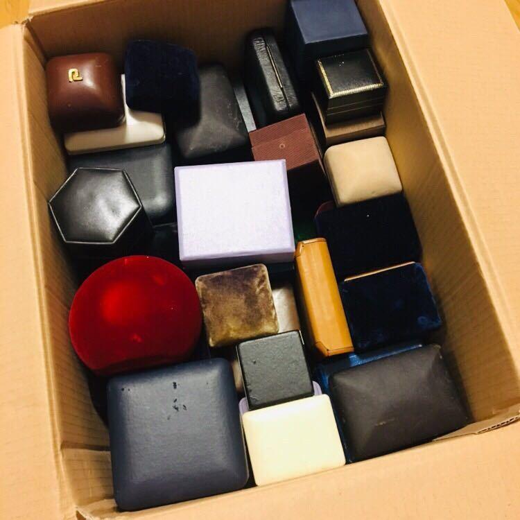 1円スタート/空箱/アクセサリー/ジュエリー/ボックス/ケース/箱/約100点/約6キロ大量まとめセット_画像4