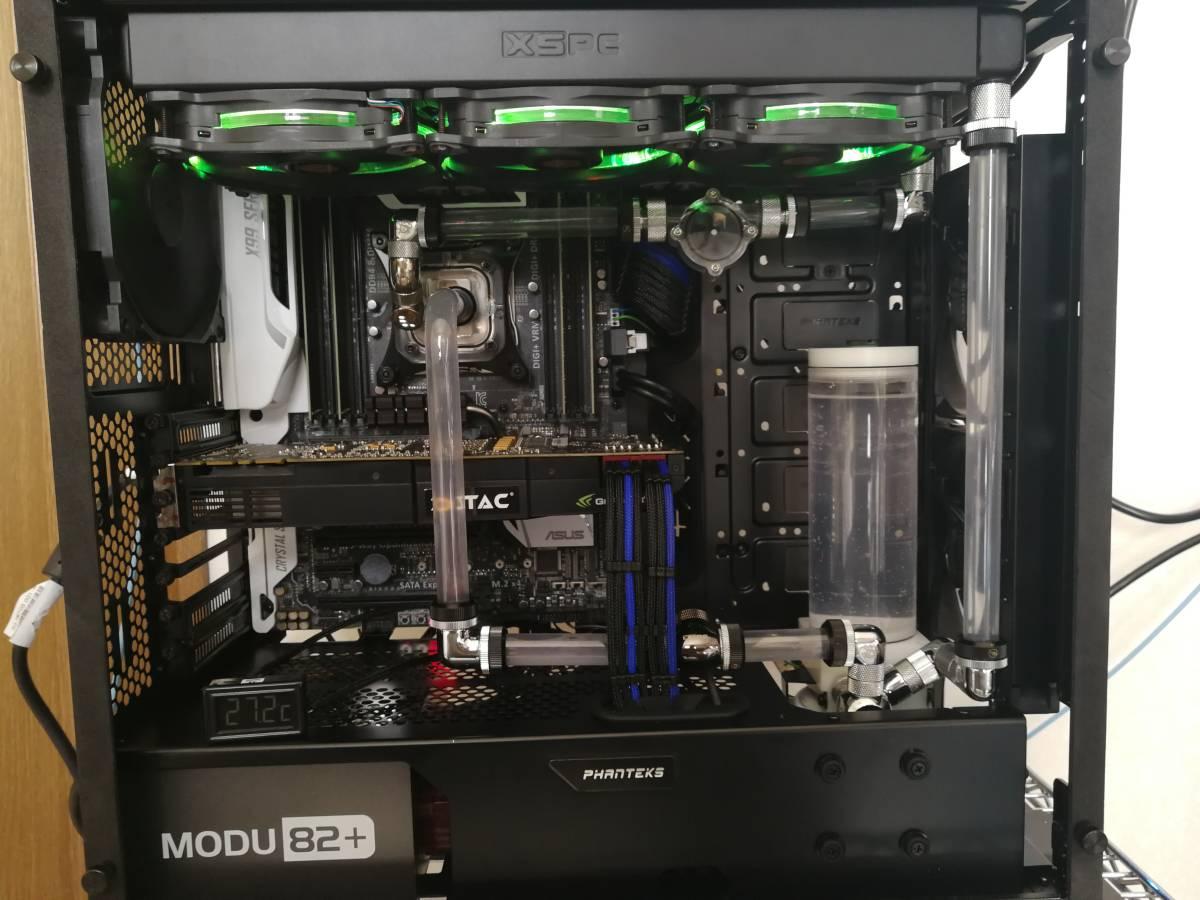 自作本格水冷PC その2