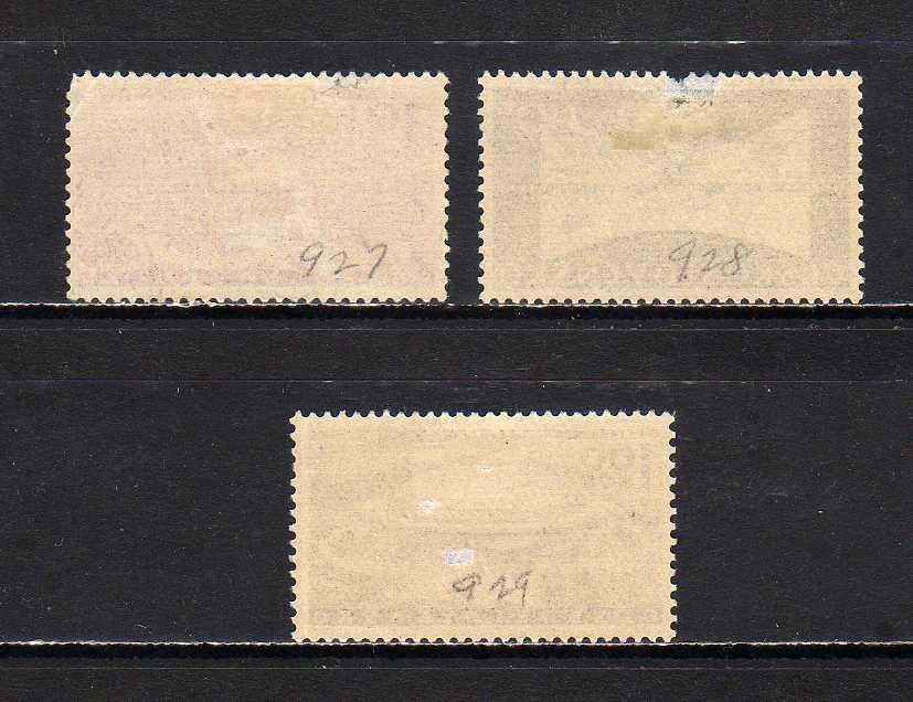 191220 チェコスロヴァキア 1959年 ブリュン国際見本市 3種完揃 使用済_画像2