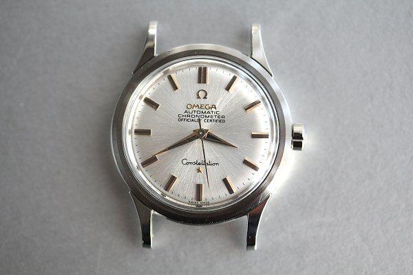 ビンテージ・オメガCAL.505搭載コンステレーションSSケース自動巻腕時計(売切り)