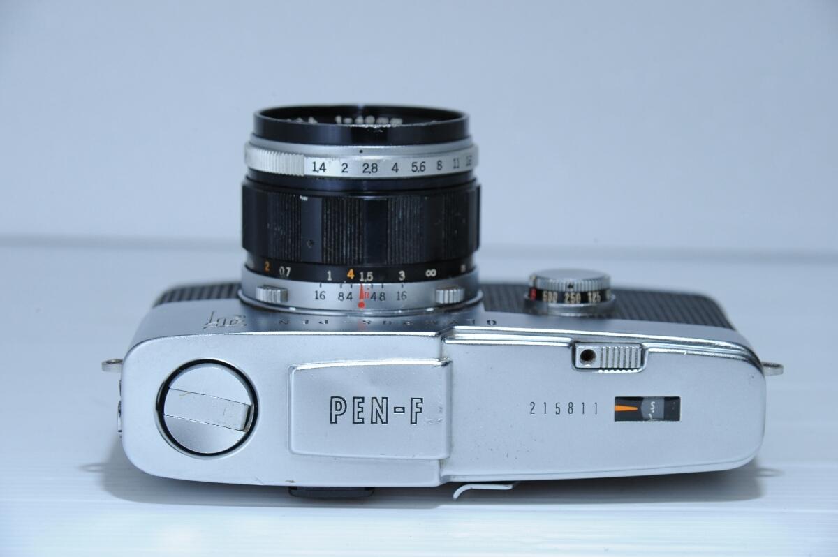 オリンパス OLYMPUS 初代 ペンf PEN-f ズイコー G.Zuiko Auto-S 40mm f1.4 / ジャンク_画像5