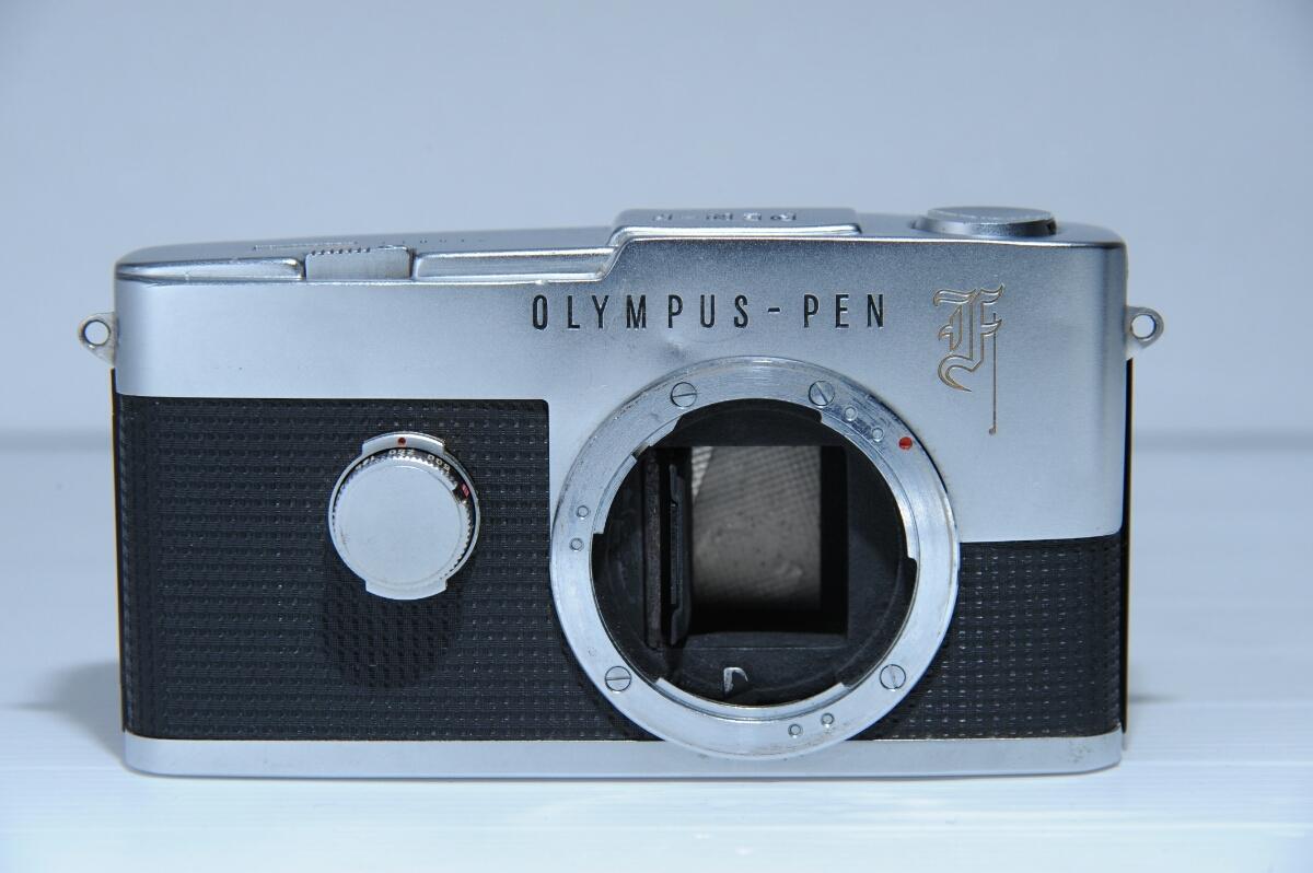 オリンパス OLYMPUS 初代 ペンf PEN-f ズイコー G.Zuiko Auto-S 40mm f1.4 / ジャンク_画像7