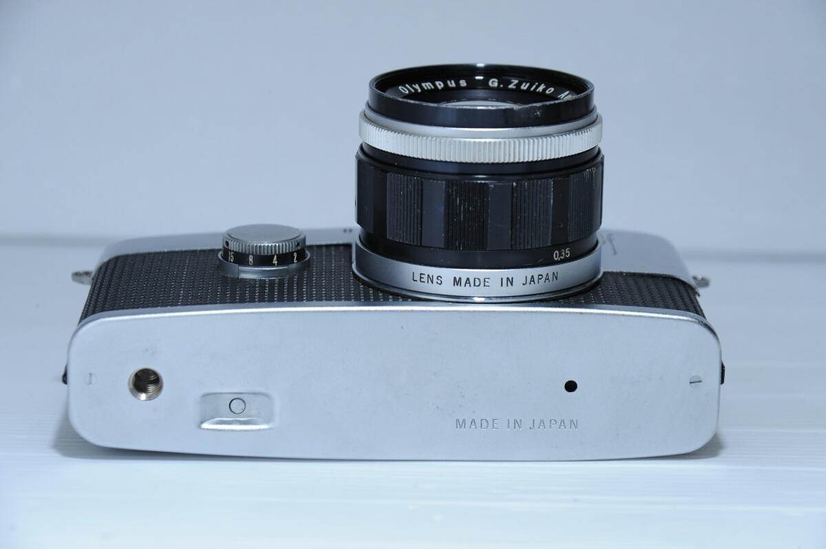 オリンパス OLYMPUS 初代 ペンf PEN-f ズイコー G.Zuiko Auto-S 40mm f1.4 / ジャンク_画像6
