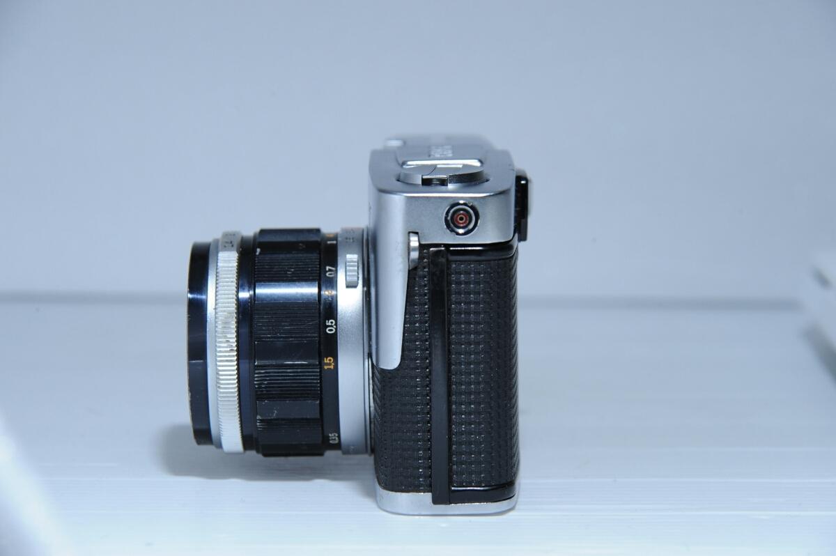 オリンパス OLYMPUS 初代 ペンf PEN-f ズイコー G.Zuiko Auto-S 40mm f1.4 / ジャンク_画像2