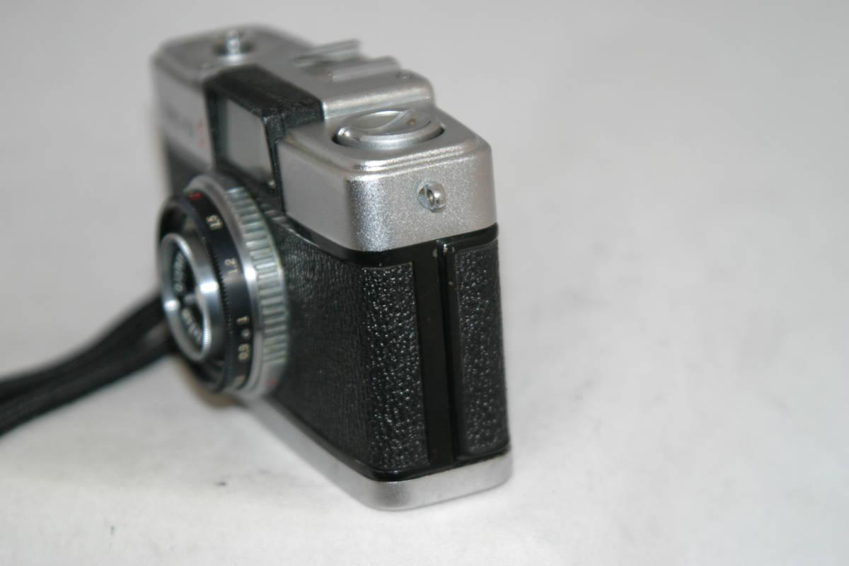 オリンパス ペンS PEN-S 1:2.8 f=3cm 整備済 モルト張替済 レンズキャップ・ストラップ付_画像6