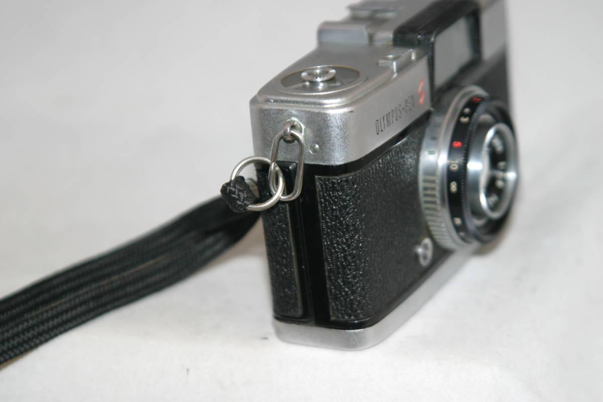 オリンパス ペンS PEN-S 1:2.8 f=3cm 整備済 モルト張替済 レンズキャップ・ストラップ付_画像7