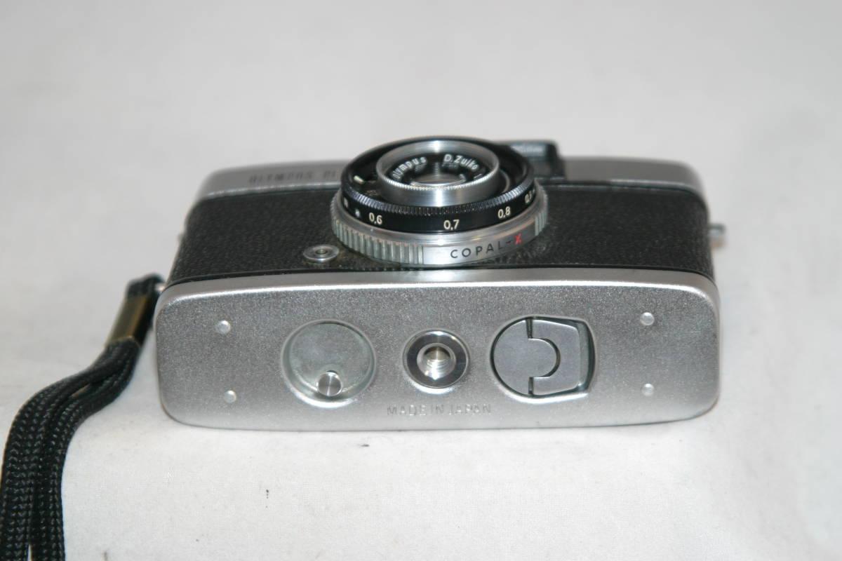 オリンパス ペンS PEN-S 1:2.8 f=3cm 整備済 モルト張替済 レンズキャップ・ストラップ付_画像5