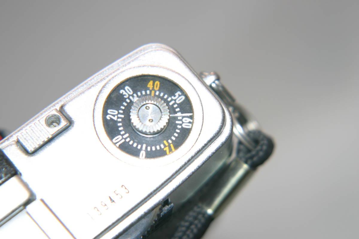 オリンパス ペンS PEN-S 1:2.8 f=3cm 整備済 モルト張替済 レンズキャップ・ストラップ付_画像10