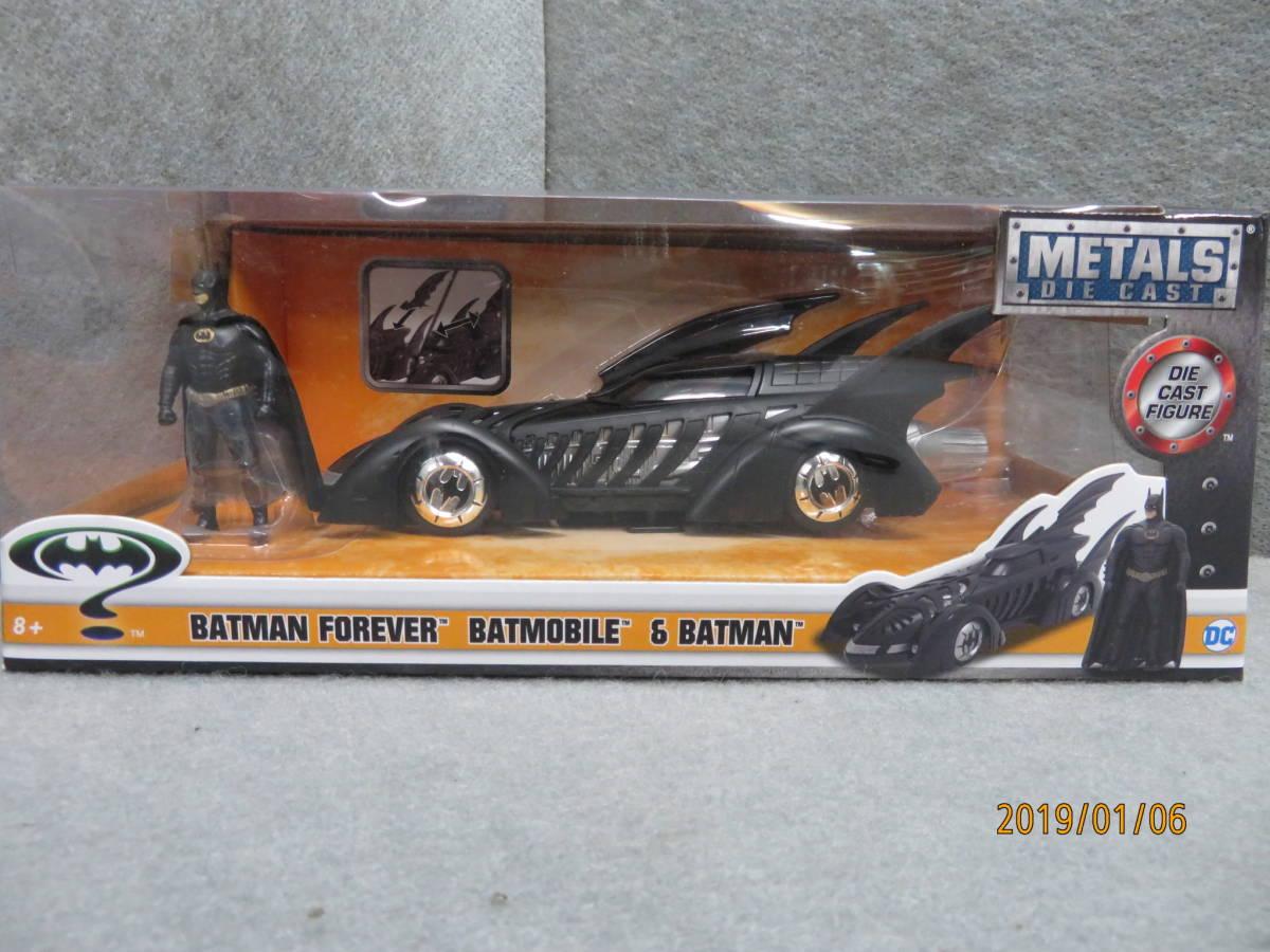 JADA 1/24 1995y Batmobile Batman Forever with Figure 98036_画像1