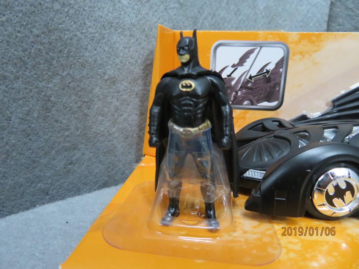 JADA 1/24 1995y Batmobile Batman Forever with Figure 98036_画像3