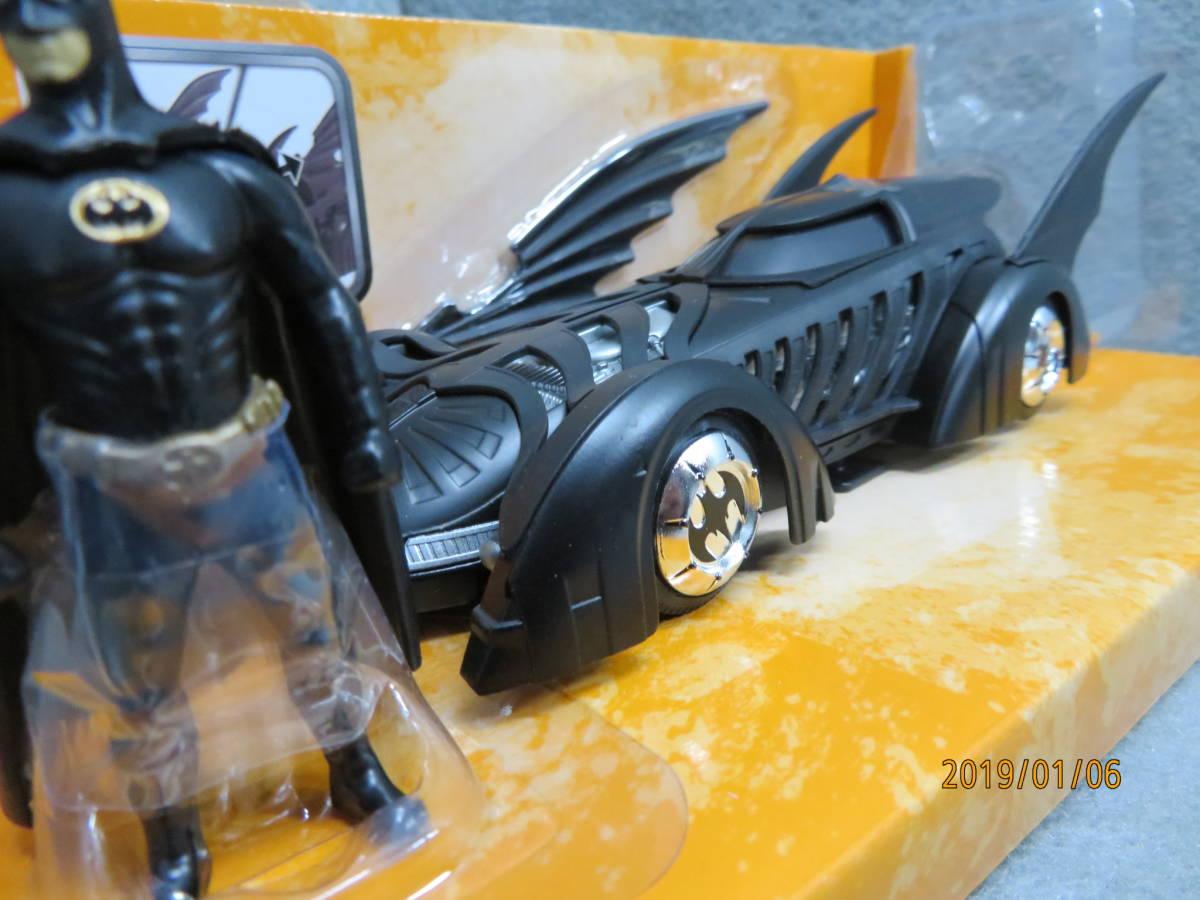 JADA 1/24 1995y Batmobile Batman Forever with Figure 98036_画像4