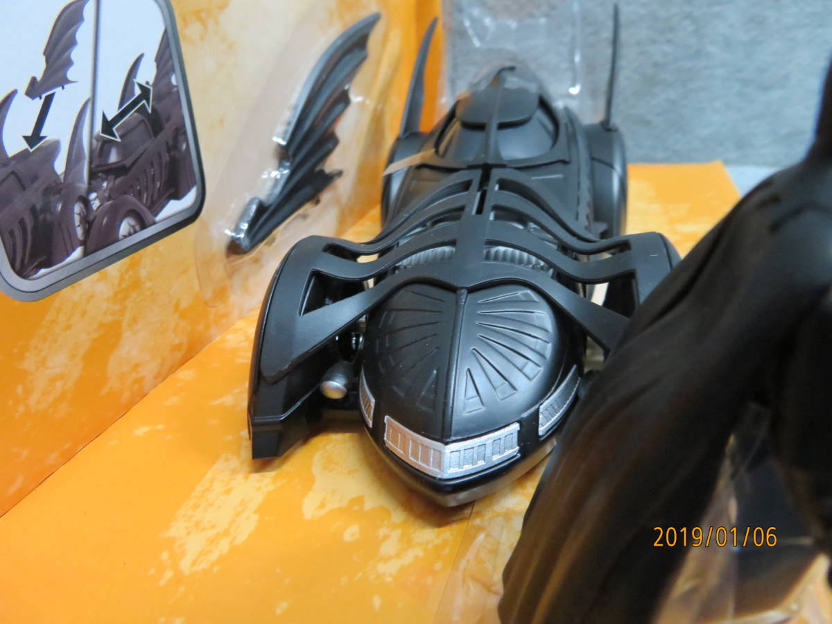 JADA 1/24 1995y Batmobile Batman Forever with Figure 98036_画像5