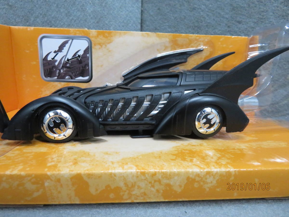 JADA 1/24 1995y Batmobile Batman Forever with Figure 98036_画像7