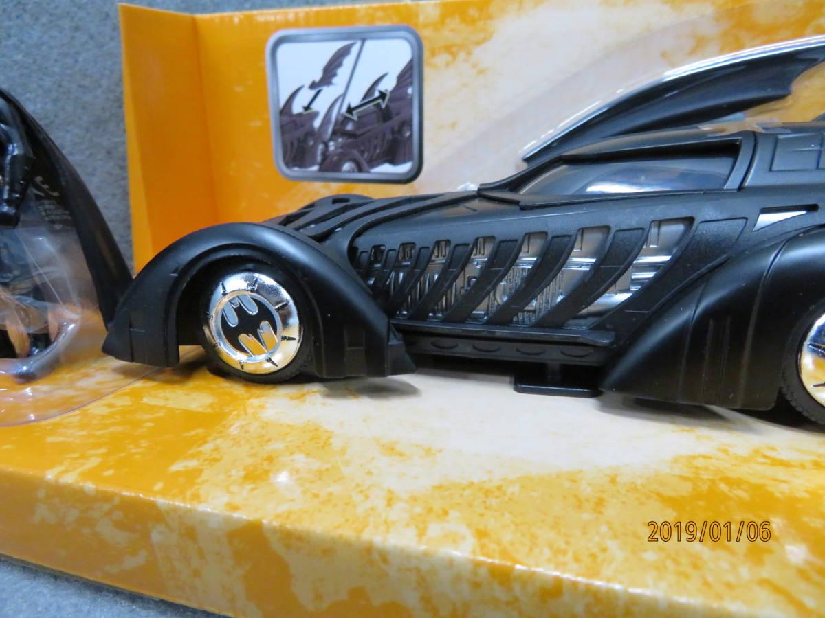 JADA 1/24 1995y Batmobile Batman Forever with Figure 98036_画像8