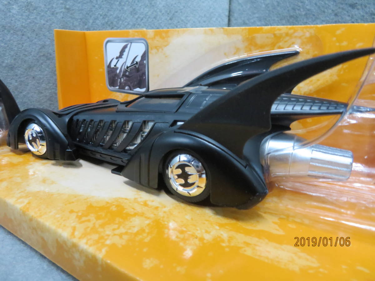 JADA 1/24 1995y Batmobile Batman Forever with Figure 98036_画像9