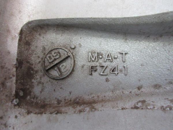 中古 フェアレディZ Z34 後期 純正 エンケイ製 18インチ 8J +43 9J+ 15 1台分 純正ナット付 ノーマル 純正戻し ドリケツ 純正ホイール_画像10