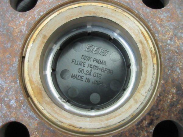 中古ホイール BBS RG500 16インチ 5.5J +45 PCD 100 4穴 1台分 軽 軽自動車 インチアップ 鍛造 FORGED_ハブリング仕様