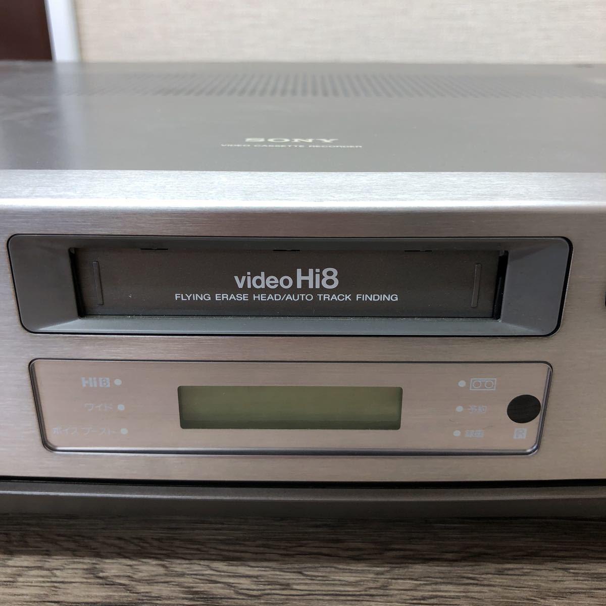 SONY/EV-NS9000/ビデオカセットレコーダー/本体のみ/【ジャンク】_画像4