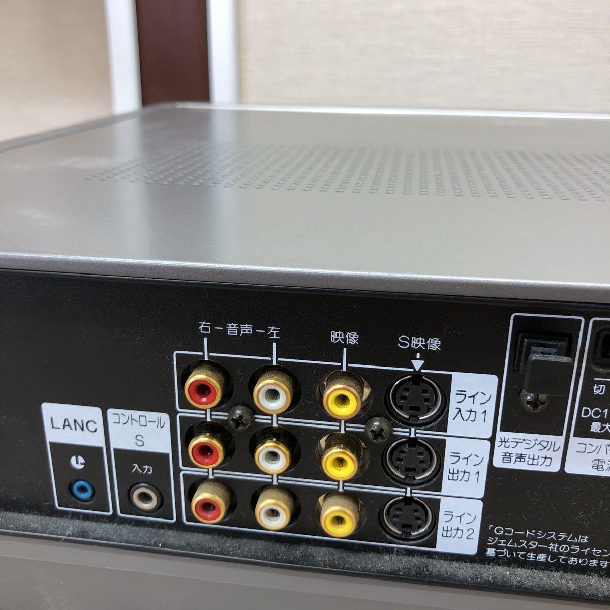 SONY/EV-NS9000/ビデオカセットレコーダー/本体のみ/【ジャンク】_画像10