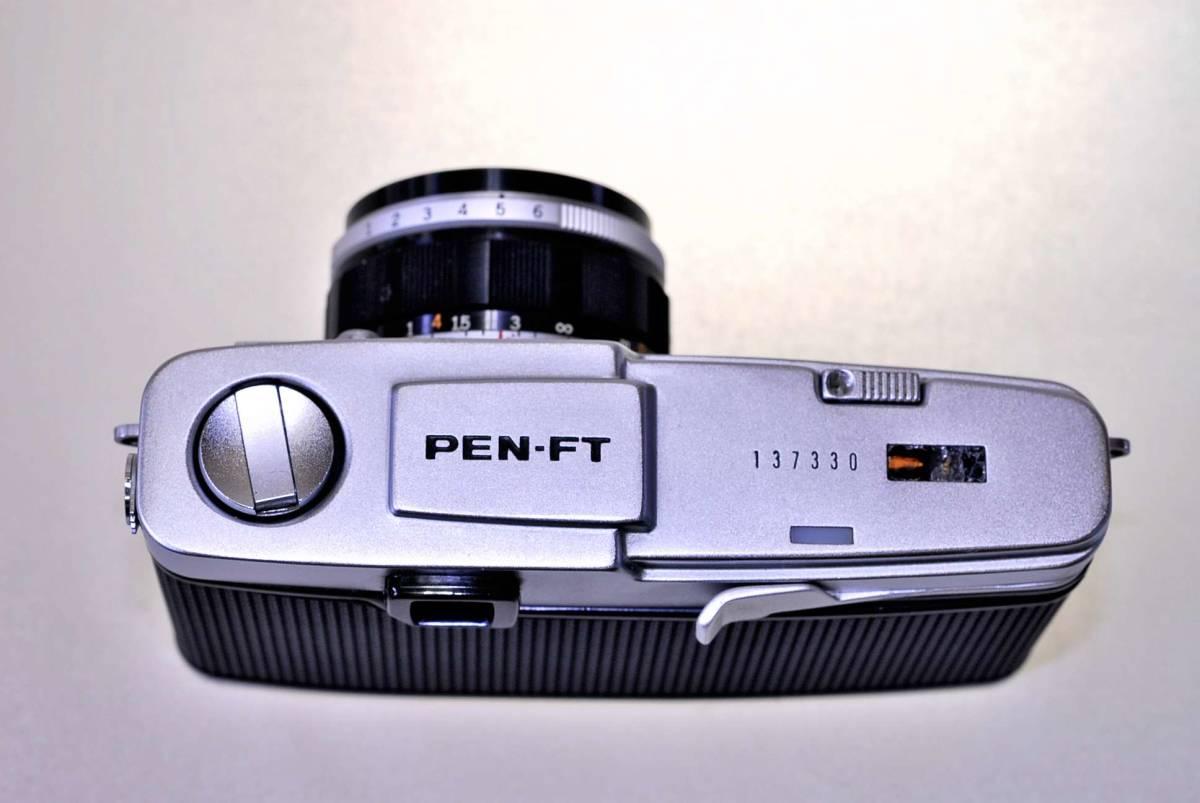 オリンパス ペンFT レンズ38mm.f1:18 オリンパス純正43mm.フイルター同キャップ付_画像2