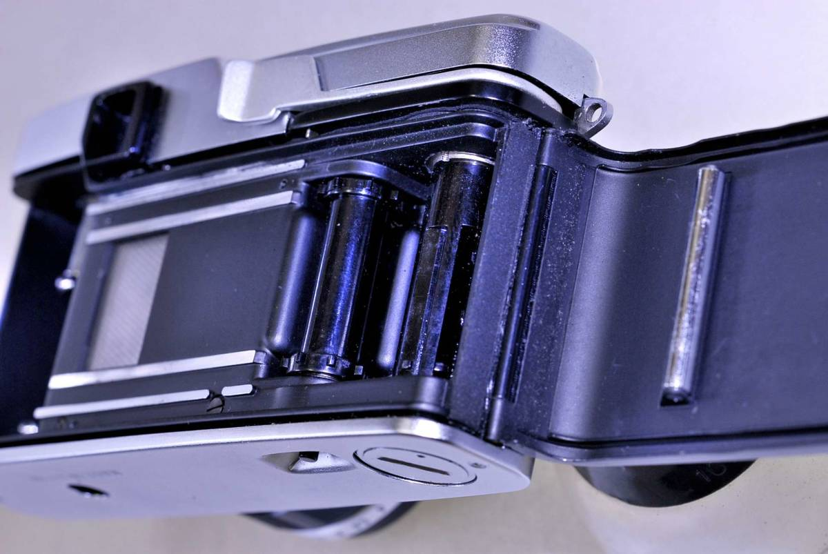 オリンパス ペンFT レンズ38mm.f1:18 オリンパス純正43mm.フイルター同キャップ付_画像4