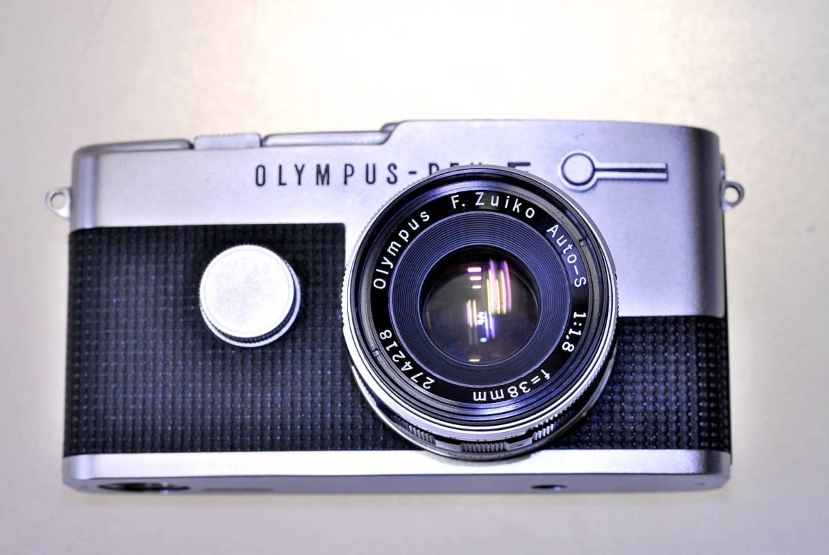 オリンパス ペンFT レンズ38mm.f1:18 オリンパス純正43mm.フイルター同キャップ付_画像6