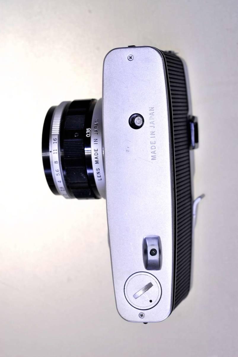 オリンパス ペンFT レンズ38mm.f1:18 オリンパス純正43mm.フイルター同キャップ付_画像5