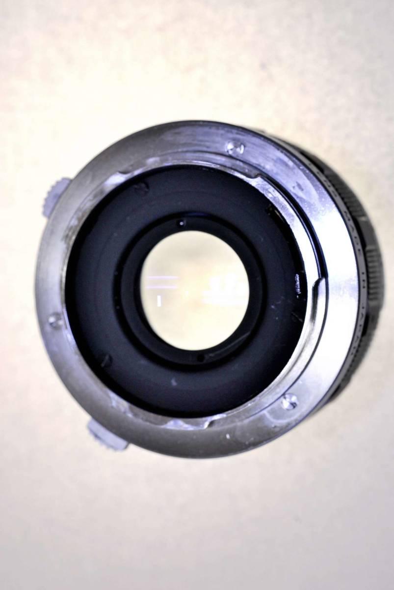 オリンパス ペンFT レンズ38mm.f1:18 オリンパス純正43mm.フイルター同キャップ付_画像7