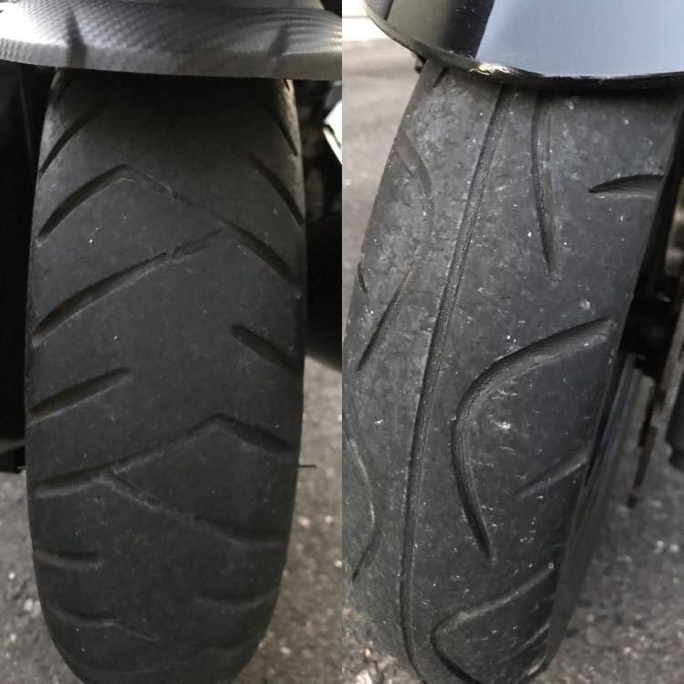 タイヤは交換時期です