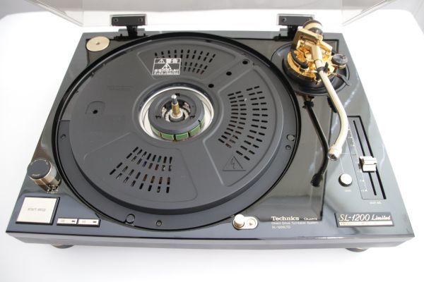 【整備済】美品 Technics / SL-1200LTD / Direct Drive Turntable【限定】テクニクス ダイレクトドライブターンテーブル_画像7
