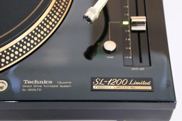 【整備済】美品 Technics / SL-1200LTD / Direct Drive Turntable【限定】テクニクス ダイレクトドライブターンテーブル_画像5