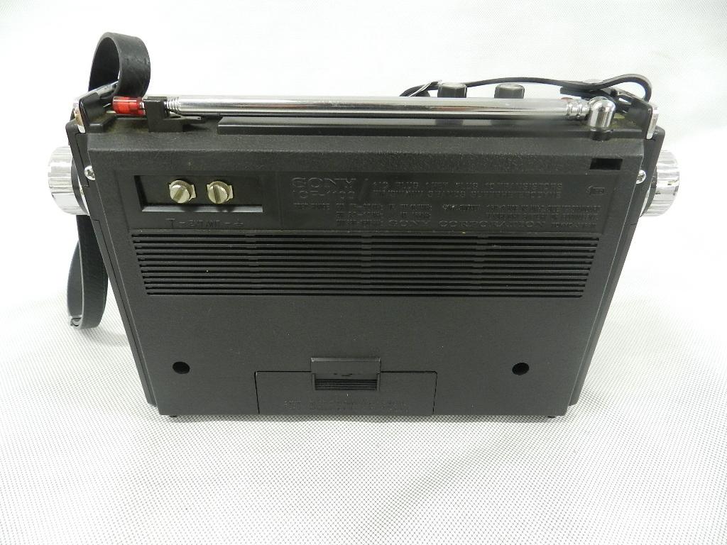 T08-0112 SONY ソニー ソリッドステート 3バンドラジオ THE11 ICF-1100 FM/MW/SW ジャンク品_画像5