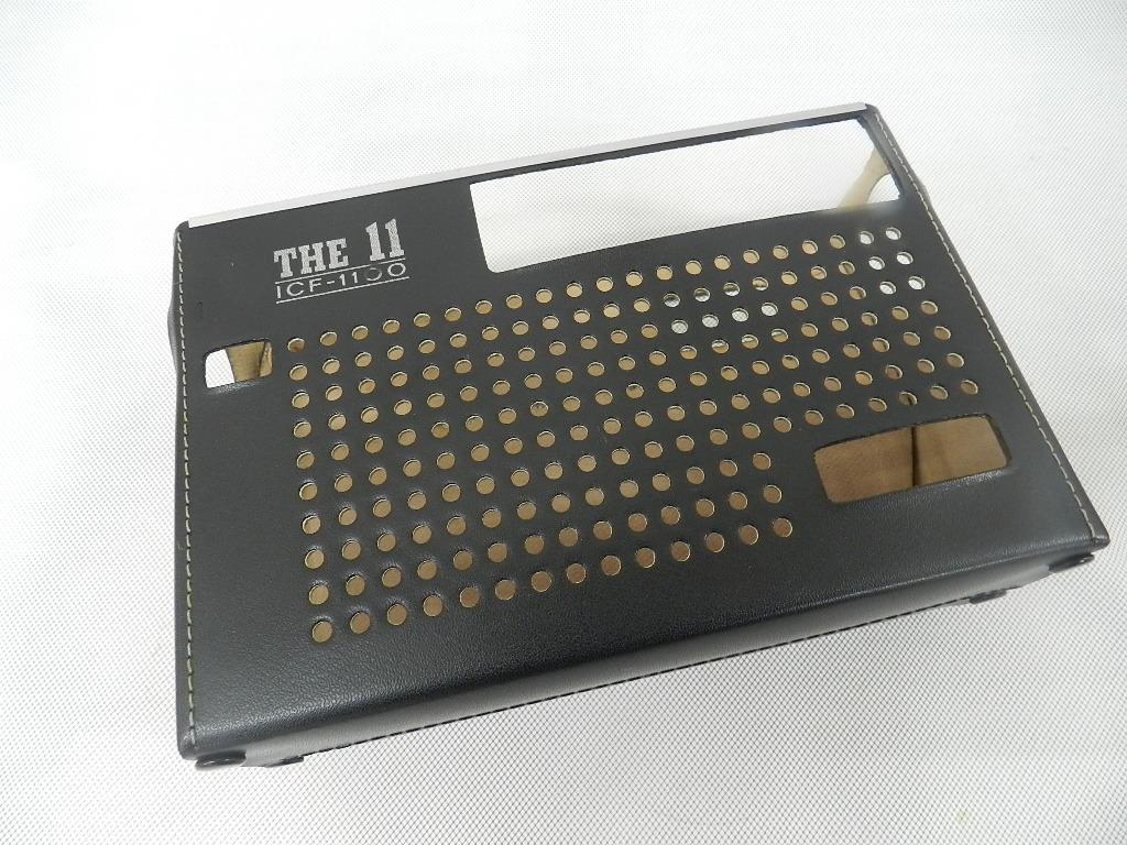 T08-0112 SONY ソニー ソリッドステート 3バンドラジオ THE11 ICF-1100 FM/MW/SW ジャンク品_画像10
