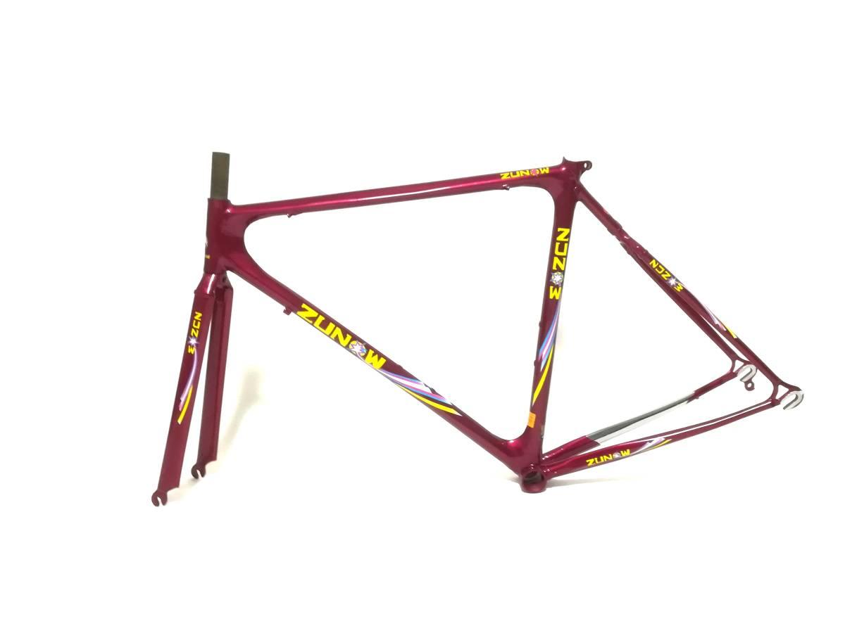 1980年代 ★ ZUNOW ズノウ Z-1 高級ヴィンテージ ロードバイク ハミングバード ☆サイズ510 カンパニョーロ コロンバス_画像3
