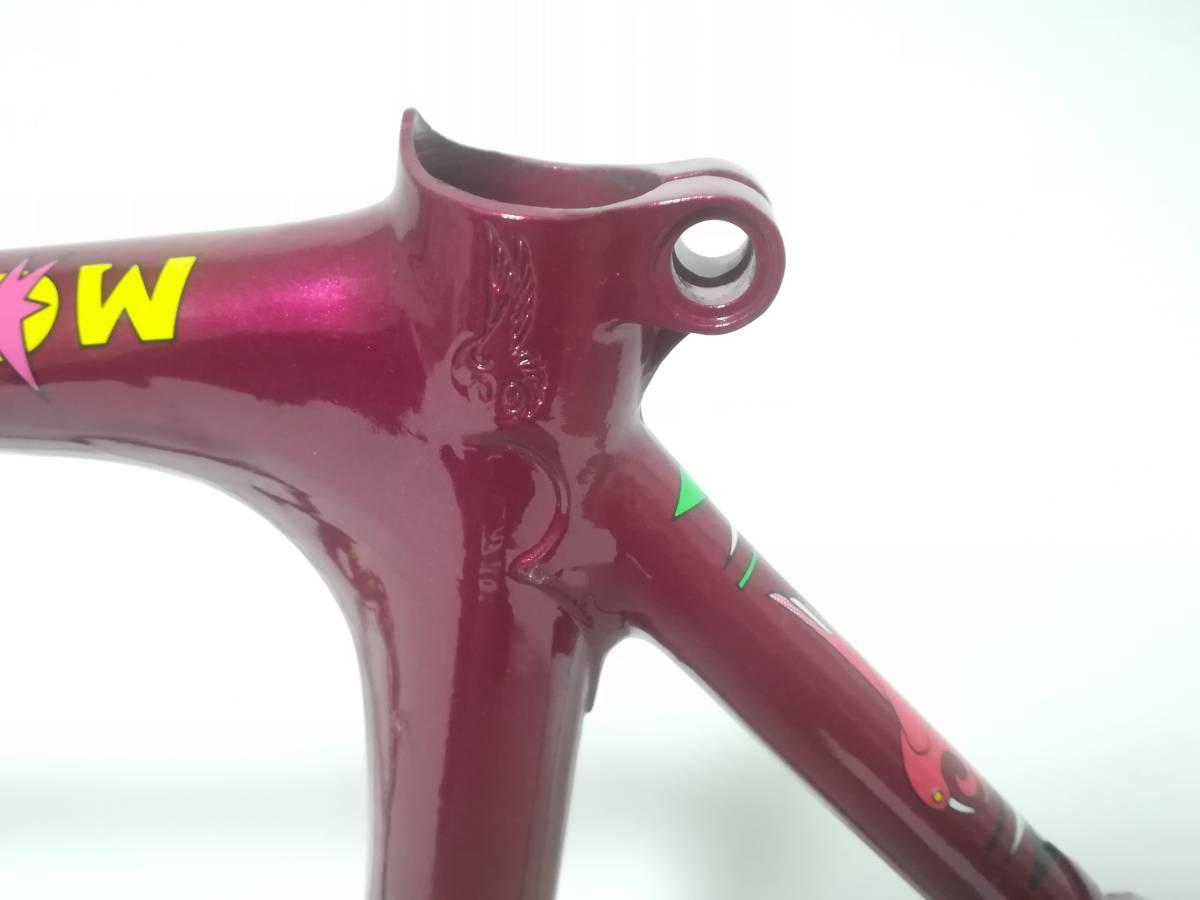 1980年代 ★ ZUNOW ズノウ Z-1 高級ヴィンテージ ロードバイク ハミングバード ☆サイズ510 カンパニョーロ コロンバス_画像5