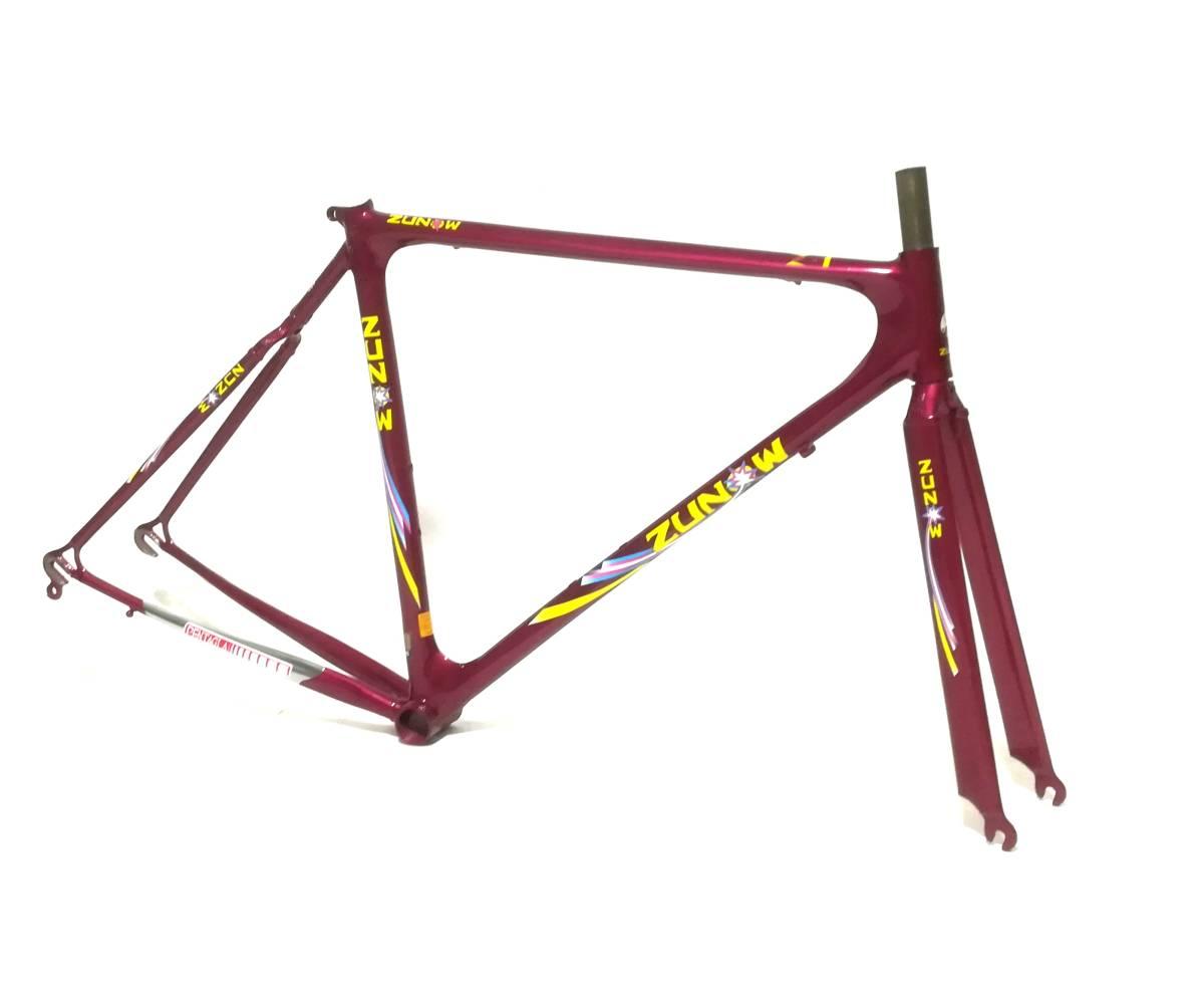 1980年代 ★ ZUNOW ズノウ Z-1 高級ヴィンテージ ロードバイク ハミングバード ☆サイズ510 カンパニョーロ コロンバス_画像2