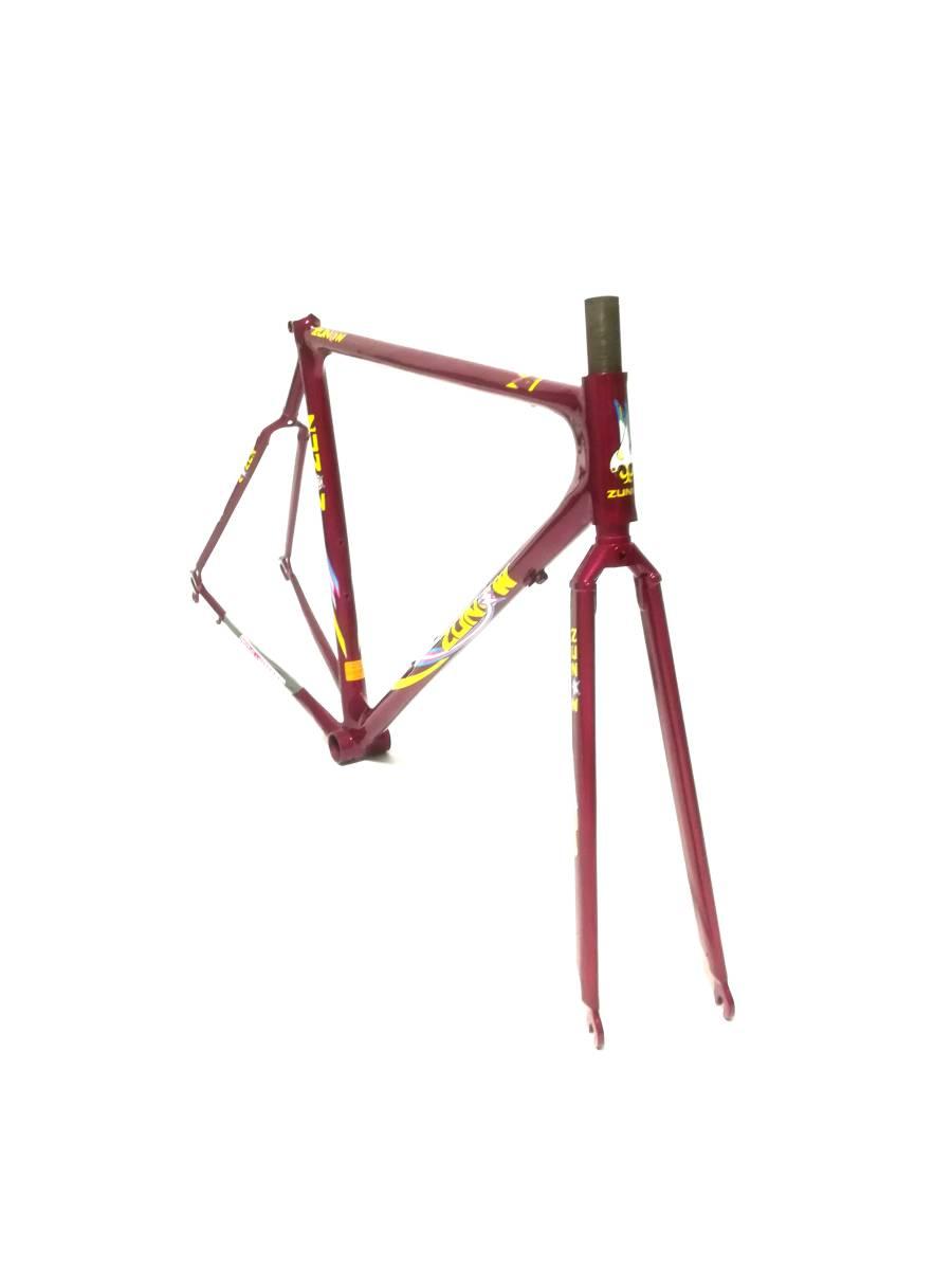 1980年代 ★ ZUNOW ズノウ Z-1 高級ヴィンテージ ロードバイク ハミングバード ☆サイズ510 カンパニョーロ コロンバス