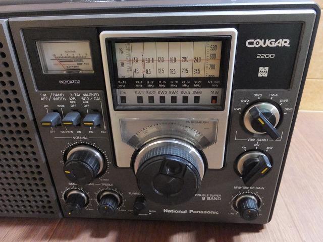 S:National/Panasonic/RF-2200/クーガー/動作品_画像2