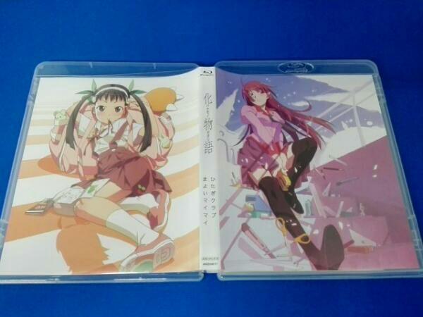 Blu-ray クリアケースに擦れあり 化物語 Blu-ray Disc BOX(Blu-ray Disc)_画像3