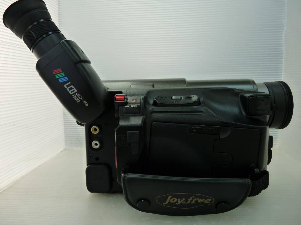 [HITACHI] 日立 8ミリビデオカメラ VM-E310 中古品_画像6